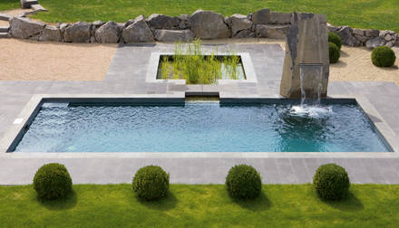 Great Download Wasser Im Modernen Garten | Siteminsk, Garten Ideen Gestaltung Great Pictures