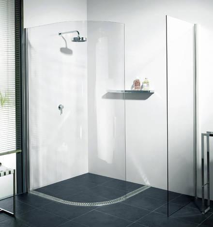 aqua walk in dusche glasklar mit. Black Bedroom Furniture Sets. Home Design Ideas