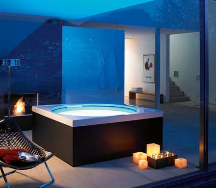 gro artiges wellnessvergn gen auf kleinem raum aqua. Black Bedroom Furniture Sets. Home Design Ideas