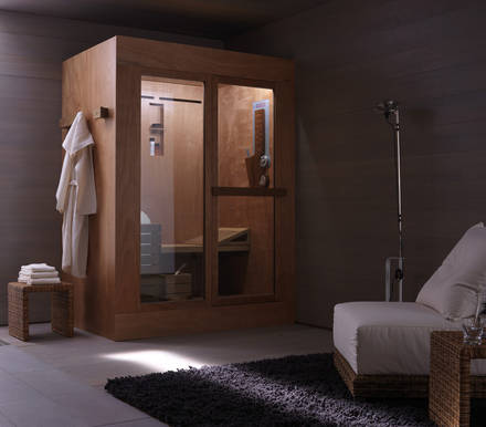 ideal standard tris sauna dampfbad und dusche in einem. Black Bedroom Furniture Sets. Home Design Ideas
