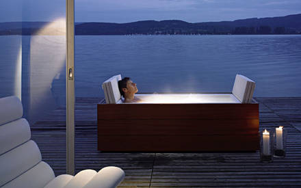 sundeck der neue mini wellness pool von duravit aqua. Black Bedroom Furniture Sets. Home Design Ideas