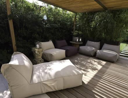 Bequem an die luft setzen aqua for Arredo giardino design on line