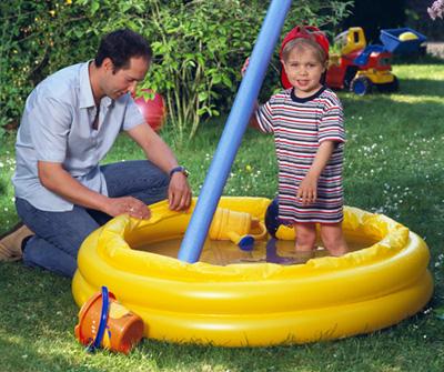 Wenn das planschbecken aber ein loch hat aqua - Pool flicken ohne flickzeug ...