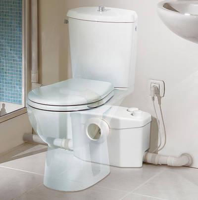 Bekannt Bad: WC überall möglich dank Hebeanlage: aqua-emotion.de KT38