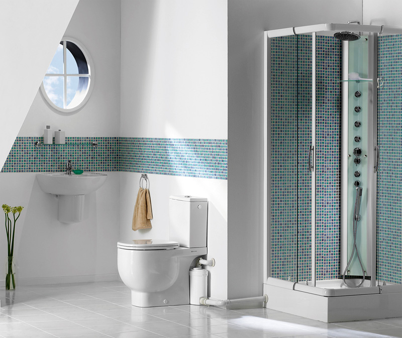 Gut bekannt Bad: WC überall möglich dank Hebeanlage: aqua-emotion.de ZI37